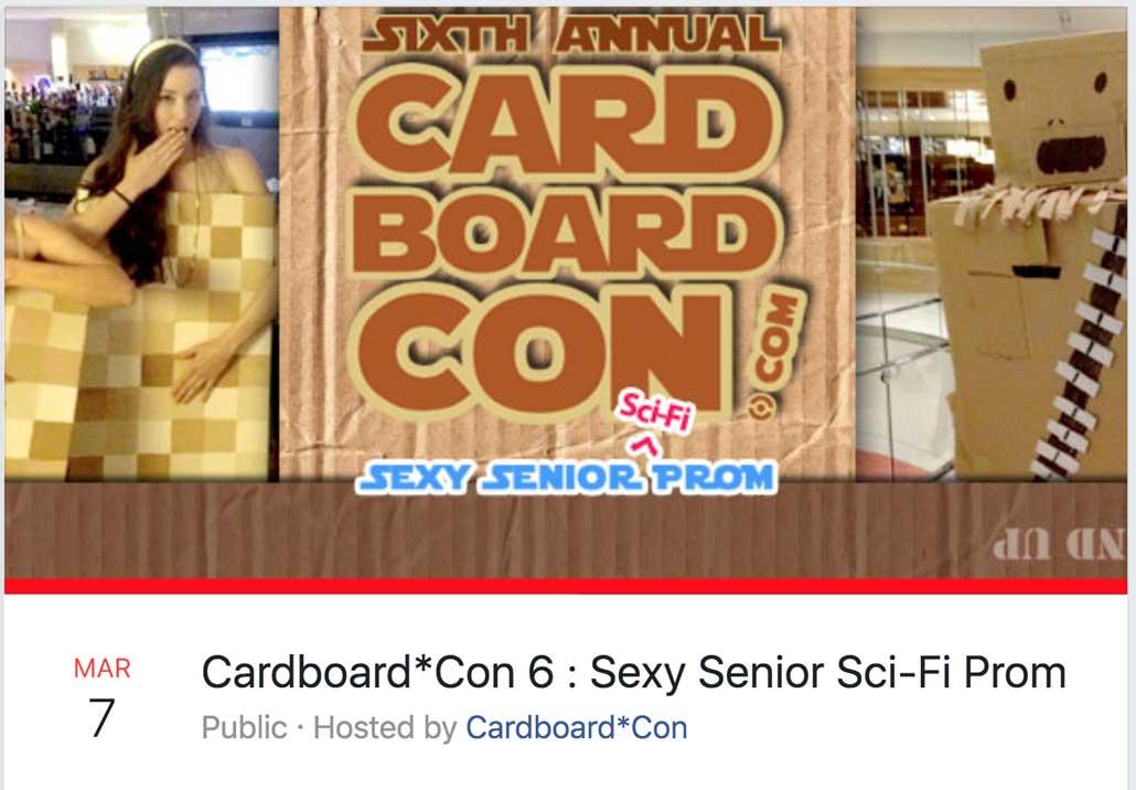 Cardboard*Con 6 Theme Announced