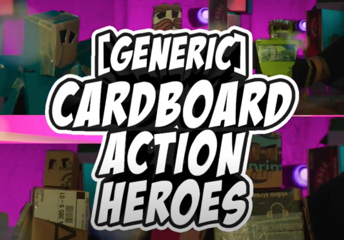 Generic Cardboard Action Heroes
