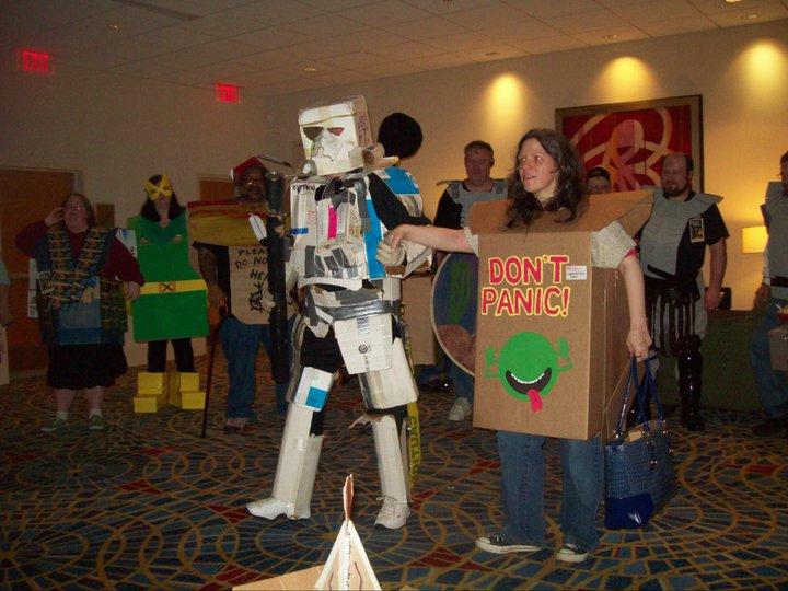 Cardboard Con 2 costume contest