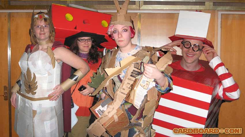 2010 Cardboard*Con Costume Contest Winners