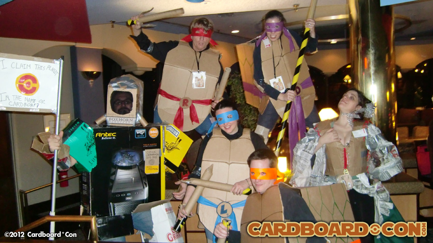 2012 Cardboard*Con Costume Contest Winners
