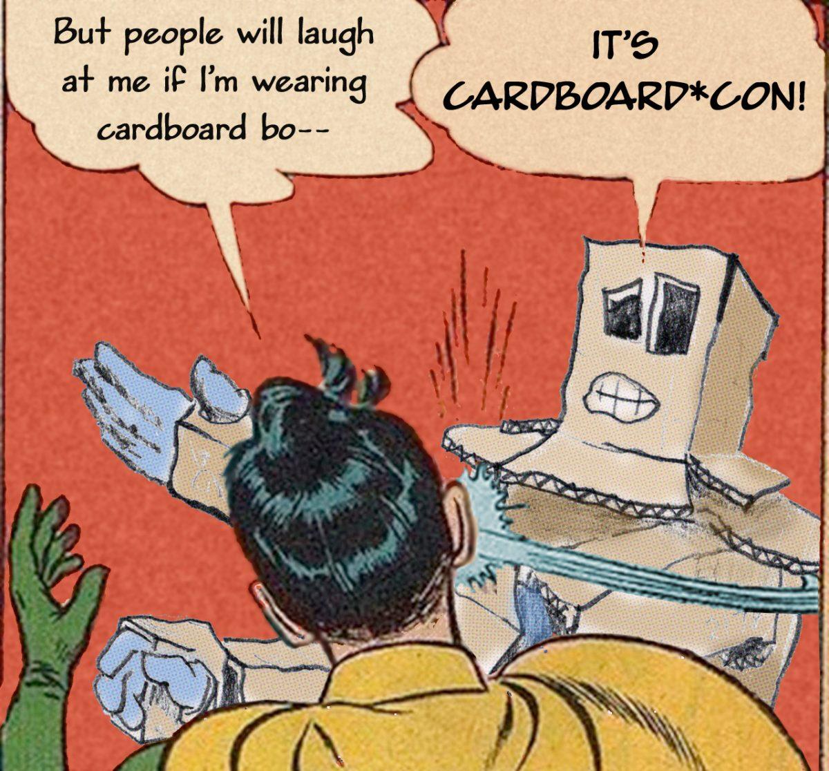 Holy cardboard Batman, it's Cardboard*Con!