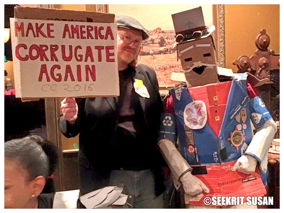 Political Debates: Make America Corrugate Again!