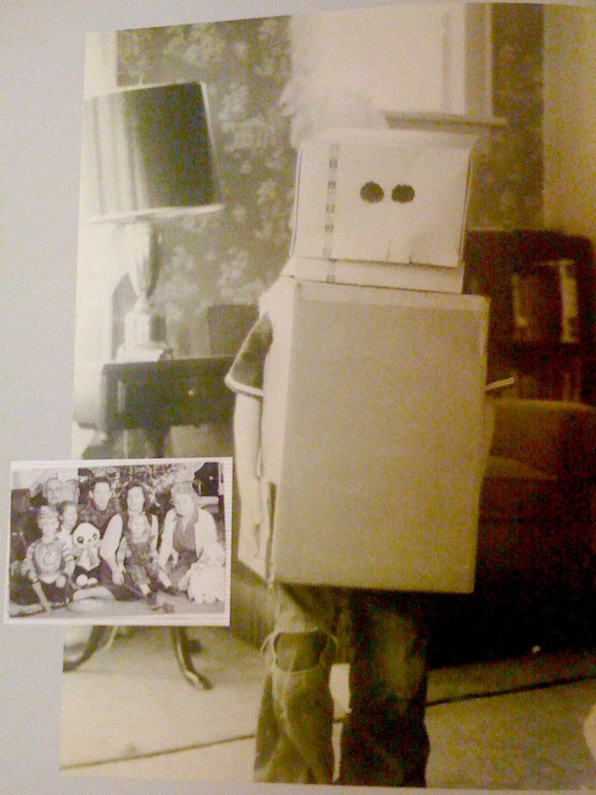 Famous Sound Engineer Ben Burtt in Cardboard
