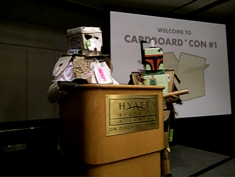 Welcome to Cardboard*Con 1