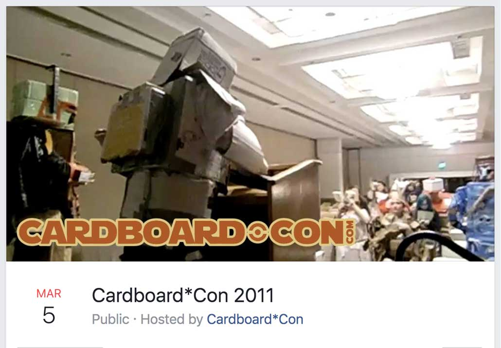 Cardboard*Con 2 Theme Announced