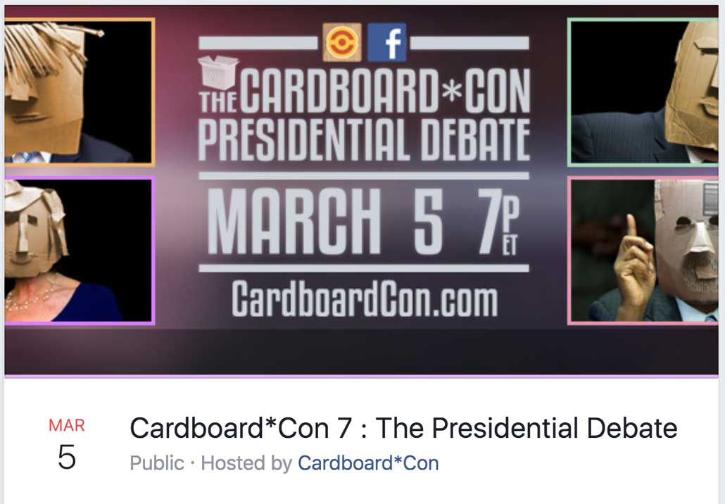 Cardboard*Con 7 Theme Announced