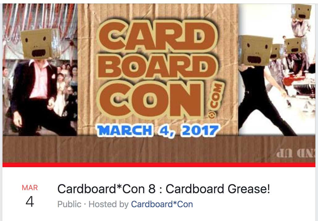Cardboard*Con 8 Theme Announced